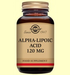 Àcid Alfa Lipoic 120 mg - Solgar - 60 càpsules vegetals
