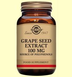 Extracte de Llavor de Raïm 100 mg - Antioxidant - Solgar - 30 càpsules