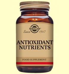 Nutrients Antioxidants - Solgar - 50 comprimits