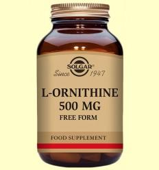 L-Ornitina 500 mg - Aminoàcids - Solgar - 50 càpsules *