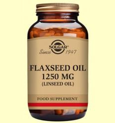 Oli de Llinosa 1250 mg - Solgar - 100 càpsules toves