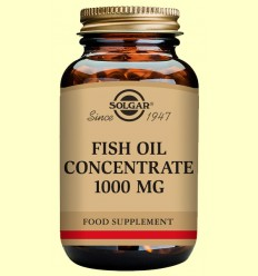 Oli de Peix concentrat 1000 mg - Solgar - 60 càpsules vegetals