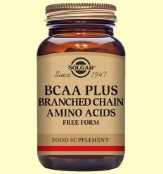 BCAA Plus - Aminoàcids - Solgar - 50 càpsules vegetals