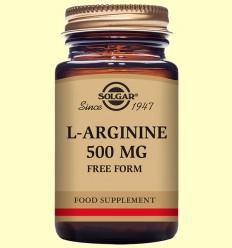 L-Arginina 500 mg - Aminoàcids - Solgar - 50 càpsules