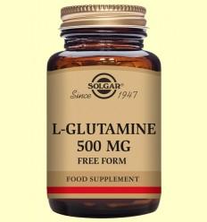 L-Glutamina 500 mg - Aminoàcids - Solgar - 50 càpsules