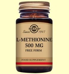L-Metionina 500 mg - Aminoàcids - Solgar - 30 càpsules