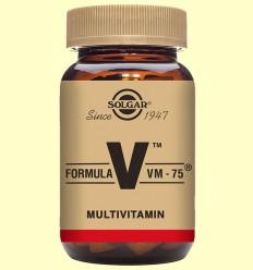 Fórmula VM 75 (Un al dia) - Solgar - 60 comprimits