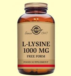 L-Lisina 1000 mg - Aminoàcids - Solgar - 50 comprimits