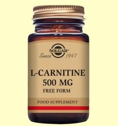 L-Carnitina 500 mg - Solgar - 30 comprimits