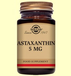 Astaxantina 5 mg - Solgar - 30 càpsules toves
