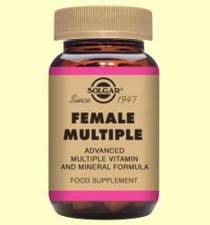 Female Múltiple - Complex per a la dona - Solgar - 120 comp