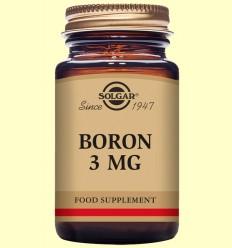 Bor 3 mg - Solgar - 100 càpsules