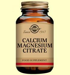Calci - Magnesi Citrat - Solgar - 100 comprimits