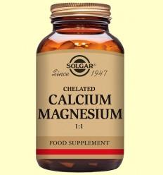 Calci - Magnesi quelat 1: 1 - Solgar - 120 comprimits