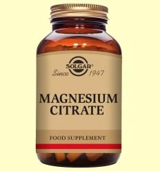 Citrat de Magnesi - Solgar - 60 comprimits
