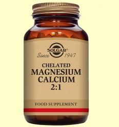 Magnesi Calci quelat 2: 1 - Solgar - 90 comprimits