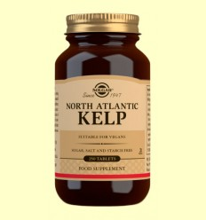 Kelp Iode de font natural - Solgar - 250 comprimits *