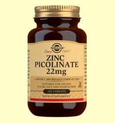 Zinc Picolinat 22 mg - Solgar - 100 comprimits