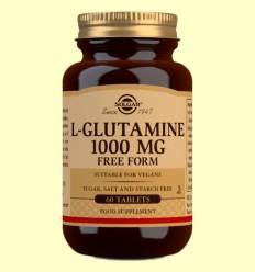 L-Glutamina 1000 mg - Solgar - 60 comprimits