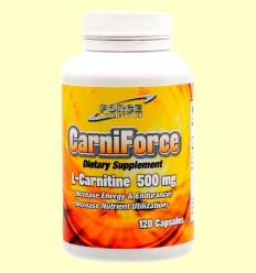 L-Carnitina - Nutri Force - 120 càpsules