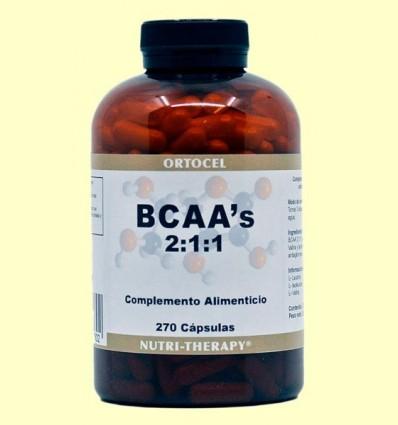 BCAA 2: 1: 1 - Ortocel - 270 càpsules