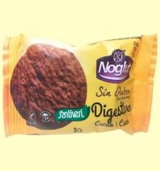 Galetes Digestive Noglut Cacau - Santiveri - 3 Unitats