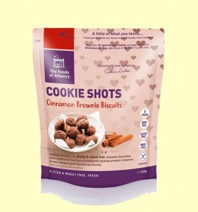 Mini Galetes Brownie de Canela Sense Gluten - The Foods of Athenry - 120 grams