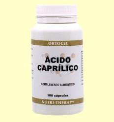 àcid caprílic - Ortocel - 100 càpsules
