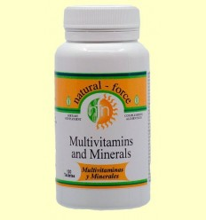 Multivitaminas i Minerals - Nutri Force - 100 Comprimits