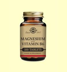 Magnesi amb Vitamina B6 - Solgar - 100 comprimits
