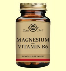 Magnesi amb Vitamina B6 - Solgar - 250 comprimits