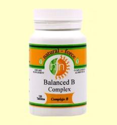 Complex B fórmula equilibrada - Nutri Force - 100 Tabletes