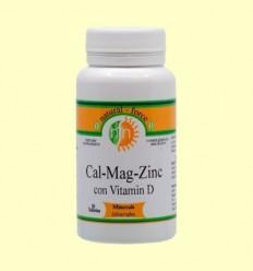 Cal-Mag-Zinc + Vitamina D - Nutri Force - 90 Perles