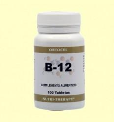 Vitamina B-12 - Ortocel - 100 Tabletes