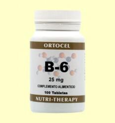 Vitamina B-6 - Ortocel - 100 Tabletes