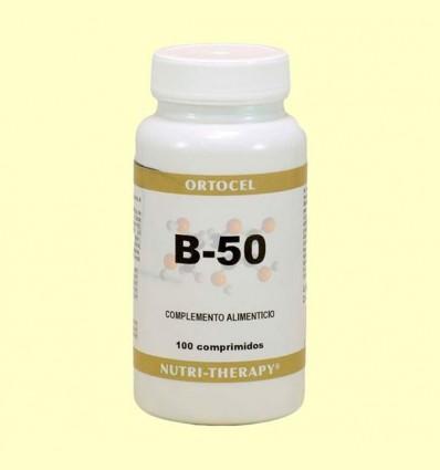 Complex B-50 - Ortocel - 100 Tabletes