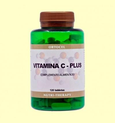 Vitamina C Plus + Citroflavonoides - Ortocel - 120 Tabletes