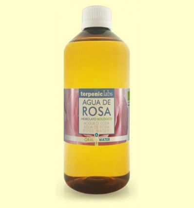 Aigua de Rosa - hidrolat Bio - Terpenic Labs - 500 ml