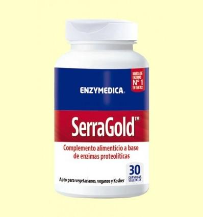 Serra Gold - Enzymedica - 30 Càpsules