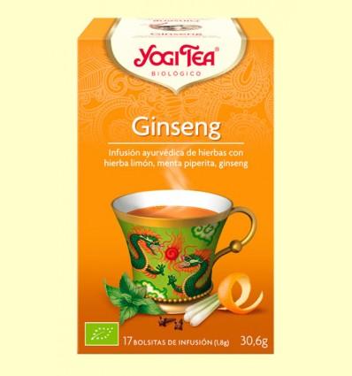 Ginseng - Yogi Tea - 17 sobres