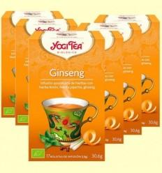 ginseng Bio - Yogi Tea - Pack 6 x 17 infusions
