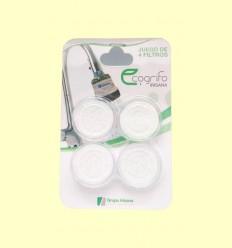 Filtres per Ecoaixeta, ecodutxa baby i beauty - Grup Irisana - 4 filtres
