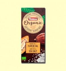 Xocolata Negre 70% amb Flor de Sal Bio - Torras - 100 grams