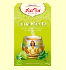 Lima Menta - Tisana ayurvèdica - Yogi Tea - 17 bossetes d'infusió