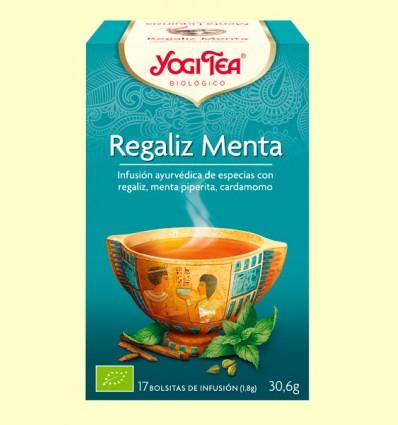 Regalèssia Menta - Yogi Tea - 17 sobres
