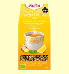 Ginger Lemon CHAI - Infusió d'herbes, espècies i fruites - Yogi Tea - 90 grams