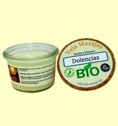 Vela Massatge Malalties Bio - Natural mente - 50 grams