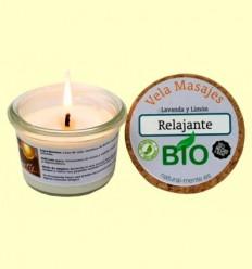 Vela Massatge Relaxant Bio - Natural mente - 50 grams