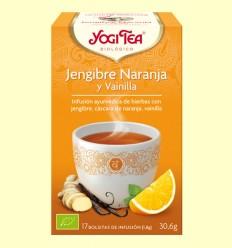 Gingebre Taronja i Vainilla - Yogi Tea - 17 bossetes d'infusió
