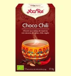 Xoco Chili Te - Yogi Tea - 17 bossetes d'infusió
